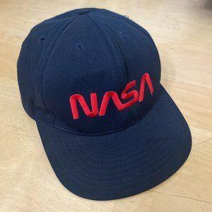 Vintage NASA snapback hat